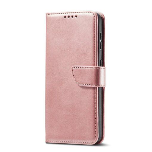 Samsung Galaxy S21 Ultra magnetiga raamatkaaned roosa 8 1