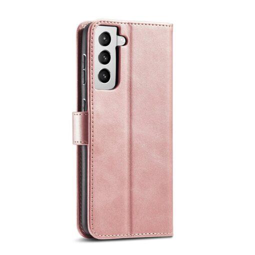Samsung Galaxy S21 Ultra magnetiga raamatkaaned roosa 9