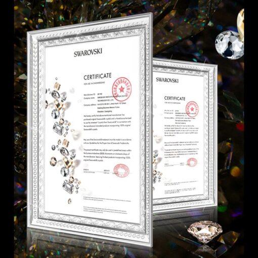 Samsung S20 Kingxbar Wish elastsest plastikust Swarowski kristallikestega hobe 5