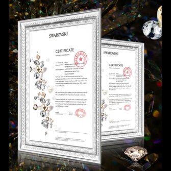 Samsung S20 Plus Kingxbar Wish elastsest plastikust Swarowski kristallikestega kuldne 5
