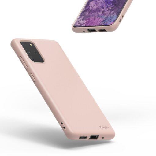 Samsung S20 Plus kaaned Ringke Air S Ultra Thin silikoonist korall ADSG0012 6