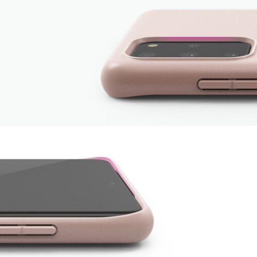 Samsung S20 Plus kaaned Ringke Air S Ultra Thin silikoonist korall ADSG0012 7