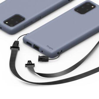 Samsung S20 Plus kaaned Ringke Air S Ultra Thin silikoonist korall ADSG0013 2
