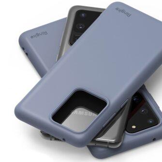 Samsung S20 Ultra kaaned Ringke Air S Ultra Thin silikoonist lilla ADSG0016 1
