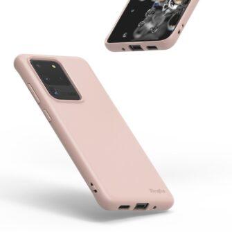 Samsung S20 Ultra kaaned Ringke Air S Ultra Thin silikoonist roosa ADSG0017 1
