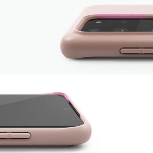 Samsung S20 Ultra kaaned Ringke Air S Ultra Thin silikoonist roosa ADSG0017 2
