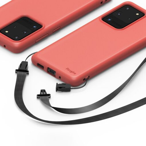 Samsung S20 Ultra kaaned Ringke Air S Ultra Thin silikoonist roosa ADSG0017 5