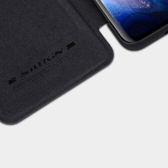 Samsung S20 Ultra kaaned nahast Nillkin Qin must 7