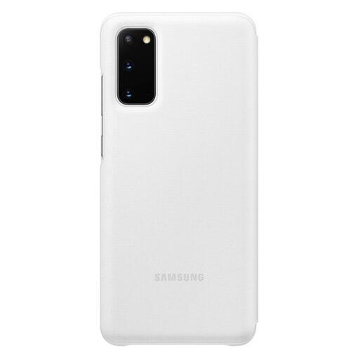 Samsung S20 kaaned LED View Cover valge EF NG980PWEGEU 1