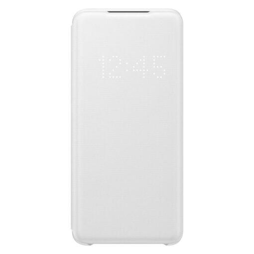 Samsung S20 kaaned LED View Cover valge EF NG980PWEGEU