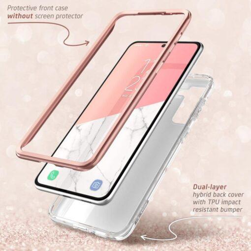 Samsung S21 Plus umbris Supcase Cosmo Galaxy Marble 1