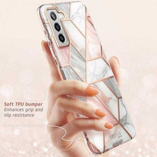 Samsung S21 Plus umbris Supcase Cosmo Galaxy Marble 2