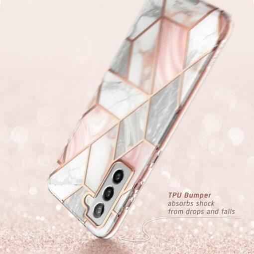 Samsung S21 Plus umbris Supcase Cosmo Galaxy Marble 3