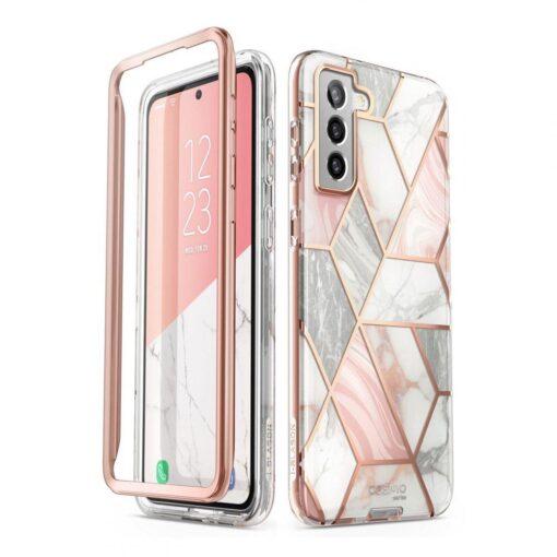 Samsung S21 Plus umbris Supcase Cosmo Galaxy Marble