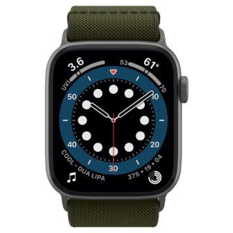 Spigen Fit Lite Apple Watch rihm 23456SE 4244MM KHAKI 2