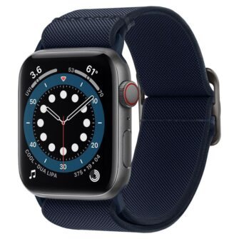 Spigen Fit Lite Apple Watch rihm 23456SE 4244MM NAVY 1