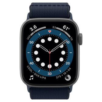 Spigen Fit Lite Apple Watch rihm 23456SE 4244MM NAVY 2