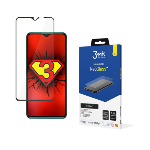 Xiaomi Redmi Note 8 Pro Black 3mk NeoGlass