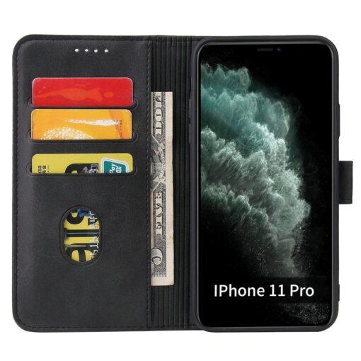 iPhone 11 magnetiga raamatkaaned Pro Max must 2