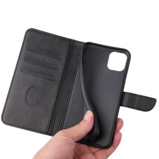 iPhone 11 magnetiga raamatkaaned Pro Max must 4