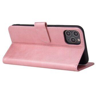 iPhone 11 magnetiga raamatkaaned Pro Max roosa 1