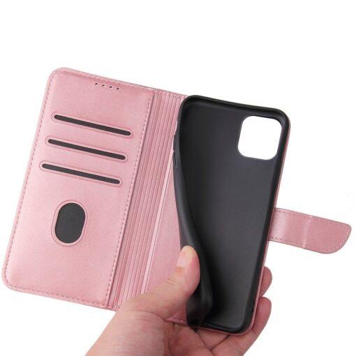 iPhone 11 magnetiga raamatkaaned Pro Max roosa 4