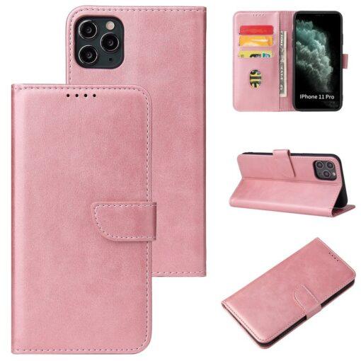 iPhone 11 magnetiga raamatkaaned Pro roosa 4