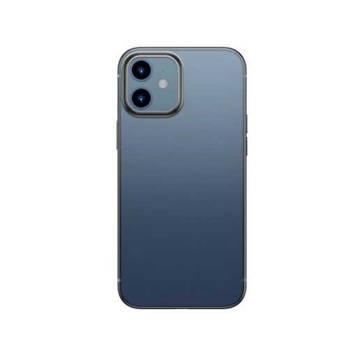 iPhone 12 12 Pro silikoonist umbris laikivate servadega Baseus Shining Case silikoonist starshine must ARAPIPH61N MD01 1