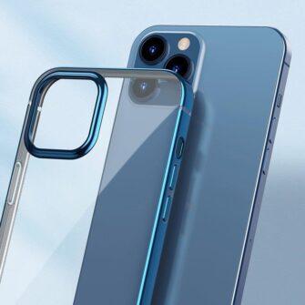 iPhone 12 12 Pro silikoonist umbris laikivate servadega Baseus Shining Case silikoonist starshine must ARAPIPH61N MD01 11