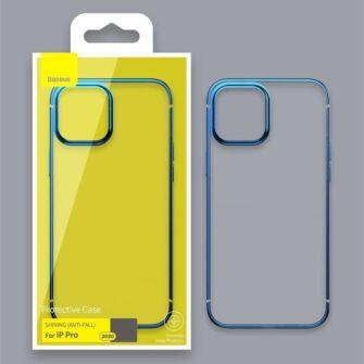 iPhone 12 12 Pro silikoonist umbris laikivate servadega Baseus Shining Case silikoonist starshine must ARAPIPH61N MD01 13