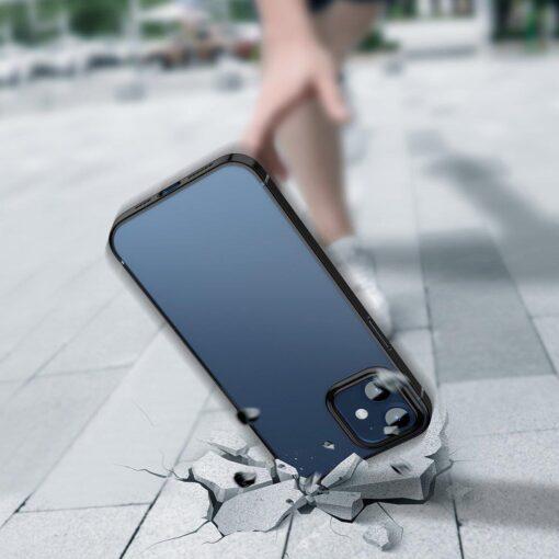 iPhone 12 12 Pro silikoonist umbris laikivate servadega Baseus Shining Case silikoonist starshine must ARAPIPH61N MD01 5