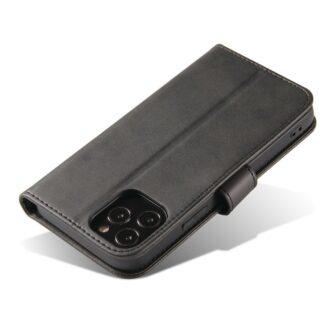 iPhone 12 Pro iPhone 12 magnetiga raamatkaaned must 4