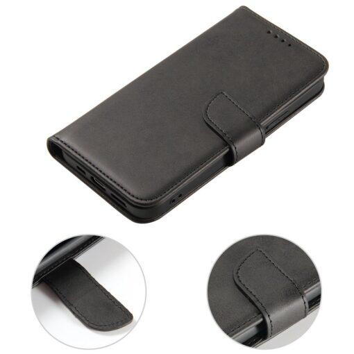 iPhone 12 Pro iPhone 12 magnetiga raamatkaaned must 7