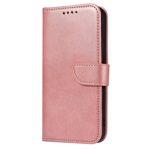 iPhone 12 Pro iPhone 12 magnetiga raamatkaaned roosa 1