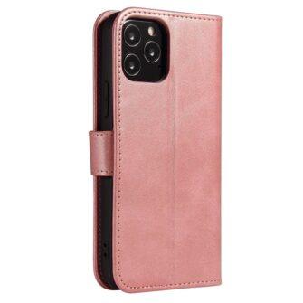 iPhone 12 Pro iPhone 12 magnetiga raamatkaaned roosa 2