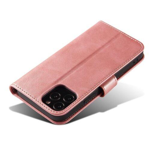 iPhone 12 Pro iPhone 12 magnetiga raamatkaaned roosa 4