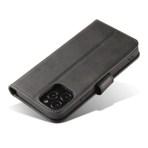 iPhone 12 mini magnetiga raamatkaaned must 4