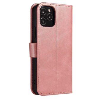 iPhone 12 mini magnetiga raamatkaaned roosa 2