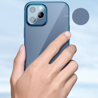 iPhone 12 mini silikoonist umbris laikivate servadega Baseus Shining Case silikoonist kuldne ARAPIPH54N MD0V 10