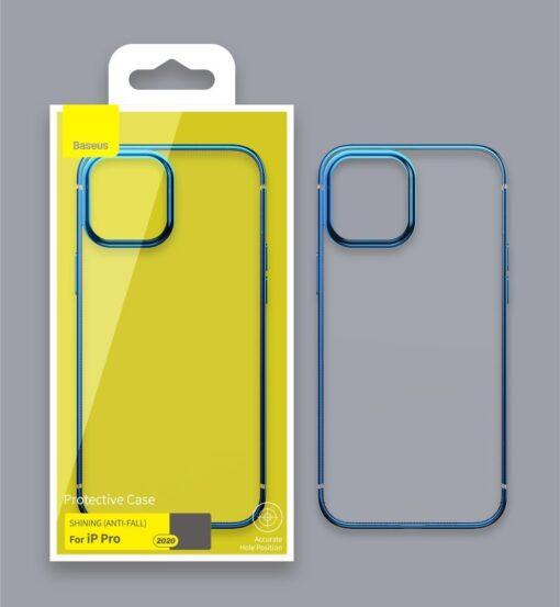 iPhone 12 mini silikoonist umbris laikivate servadega Baseus Shining Case silikoonist kuldne ARAPIPH54N MD0V 13
