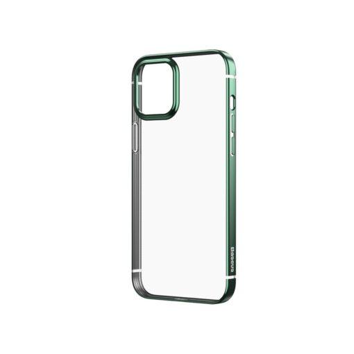 iPhone 12 mini silikoonist umbris laikivate servadega Baseus Shining Case silikoonist tumeroheline ARAPIPH54N MD06 1