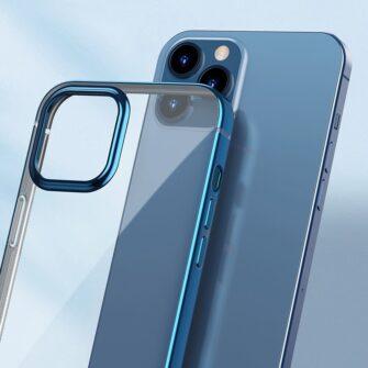 iPhone 12 mini silikoonist umbris laikivate servadega Baseus Shining Case silikoonist tumeroheline ARAPIPH54N MD06 10