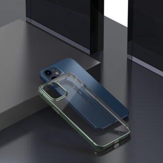 iPhone 12 mini silikoonist umbris laikivate servadega Baseus Shining Case silikoonist tumeroheline ARAPIPH54N MD06 2
