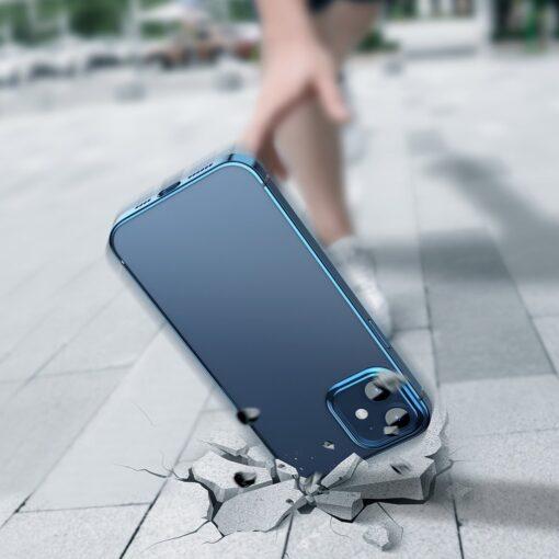 iPhone 12 mini silikoonist umbris laikivate servadega Baseus Shining Case silikoonist tumeroheline ARAPIPH54N MD06 3