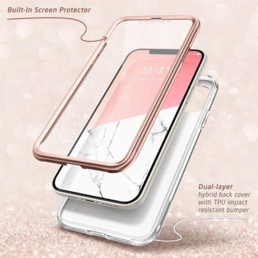 iPhone 12 mini umbris Supcase Cosmo Galaxy Marble 1