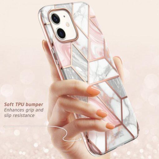 iPhone 12 mini umbris Supcase Cosmo Galaxy Marble 2