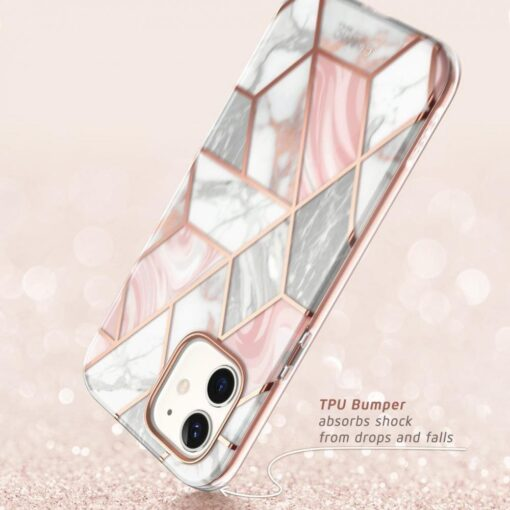 iPhone 12 mini umbris Supcase Cosmo Galaxy Marble 3