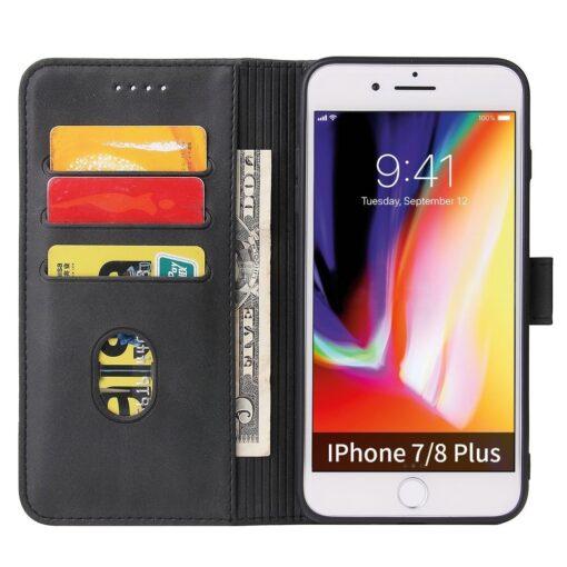 iPhone 8 Plus iPhone 7 Plu magnetiga raamatkaaneds must 2