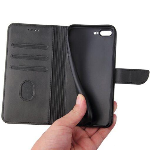 iPhone 8 Plus iPhone 7 Plu magnetiga raamatkaaneds must 4