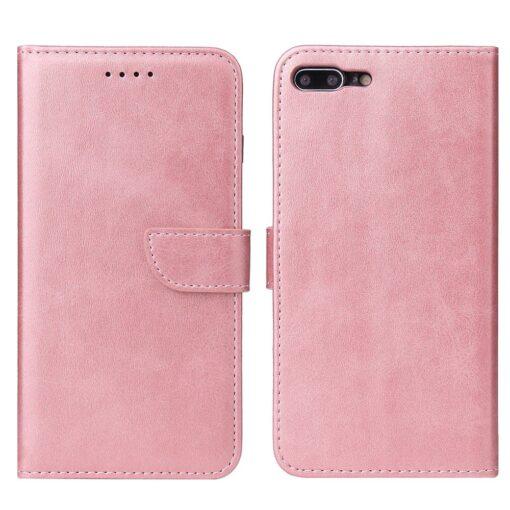 iPhone 8 Plus iPhone 7 Plus magnetiga raamatkaaned roosa